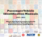 Passenger Vehicle Identification Manuals 1937-2011 CD