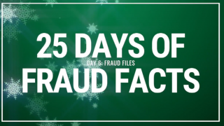 25 Days of Fraud Facts: Fraud Files