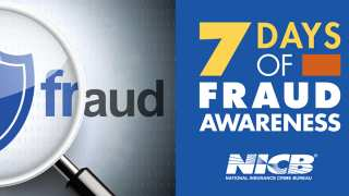 Fraud Awareness Week NICB Logo