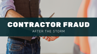After the Storm: Contractor Fraud