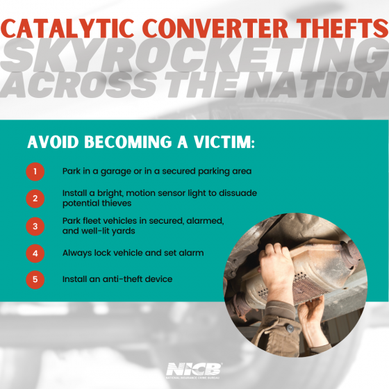 Catalytic Converters Tips Infographic